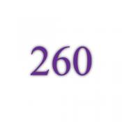 260g Chromokarton (PK)
